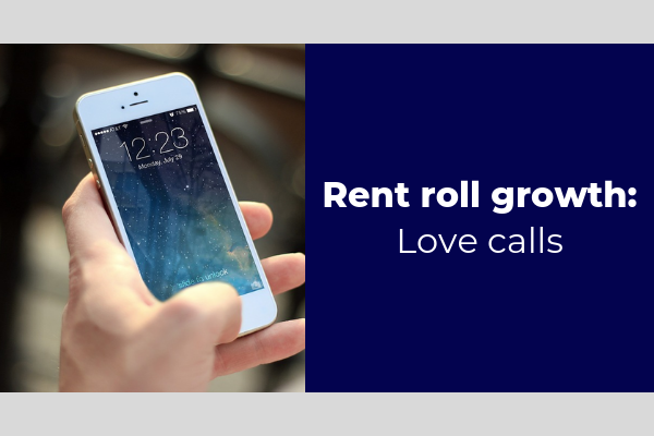 rent roll growth love calls