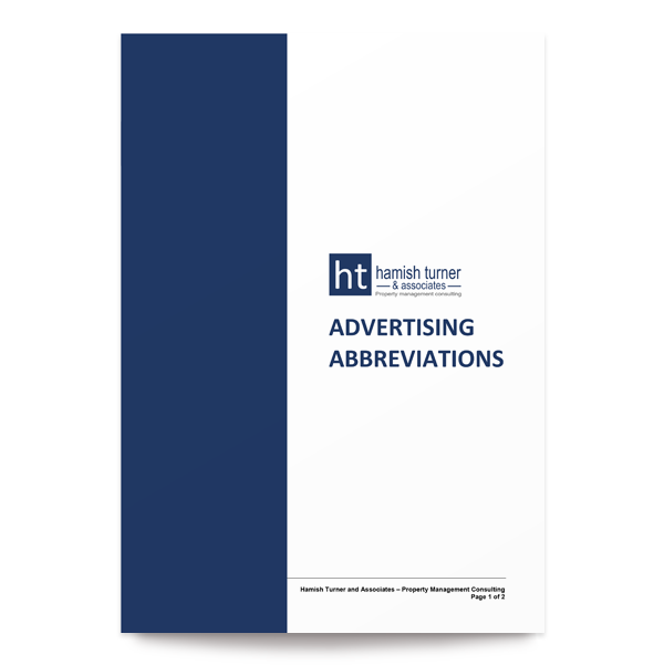 Advertising Abbreviations