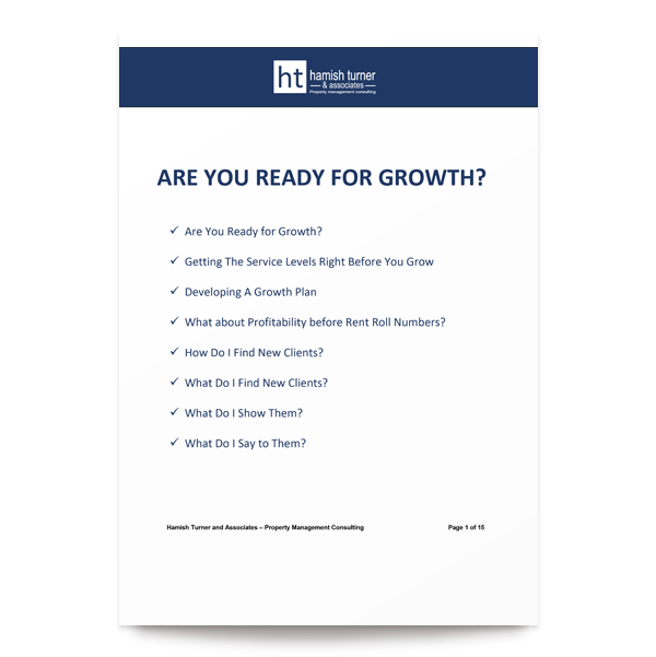 Are you ready for growth